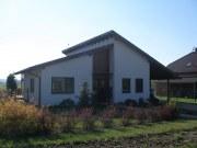 Dřevostavba-podkrovní dům