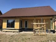 RD Huslenky - průběh prací - hrubá stavba