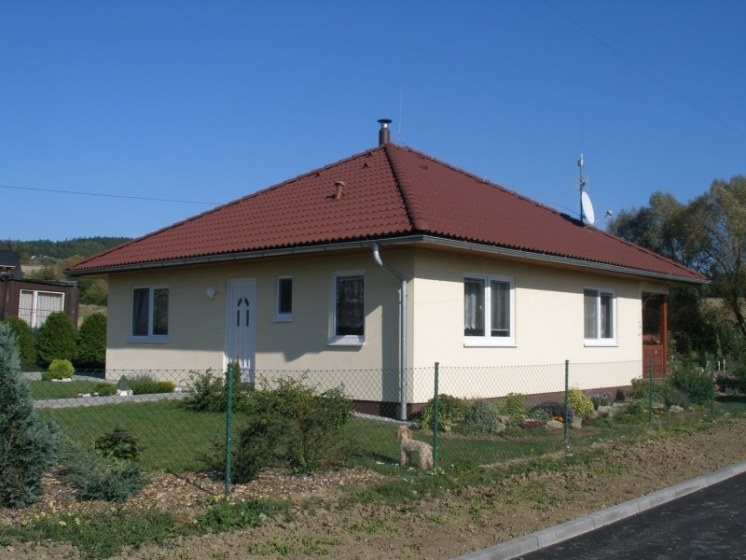 Dřevostavba-bungalow