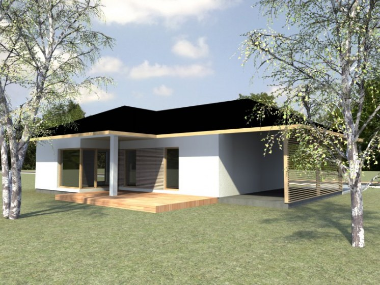 KLASIK bungalow 1 - 80m2 - 2